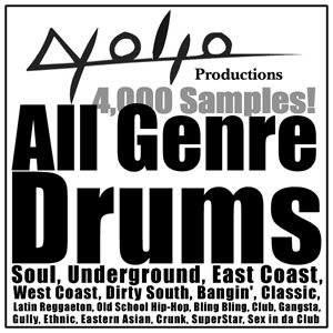 Product picture All Genre Drums Sample Package!