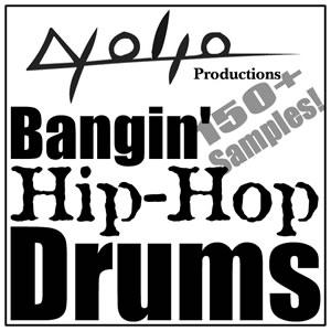 Product picture Bangin Hip Hop Drums.zip