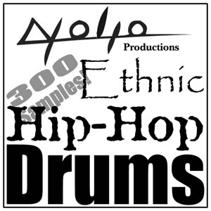 Product picture Ethnic Hip Hop Drums.zip