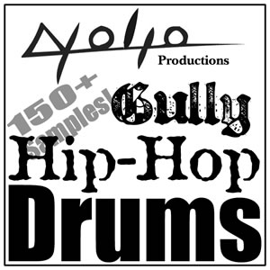 Product picture Gully Hip Hop Drums.zip