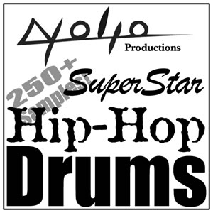 Product picture Superstar Hip Hop Drums.zip